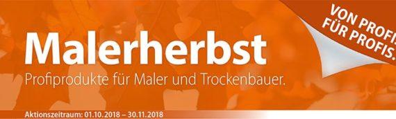 Maler Leitern Angebote – Malerherbst 2018