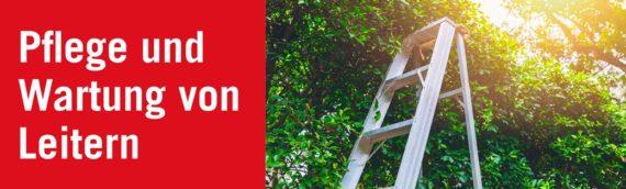 Pflege und Wartung von Leitern