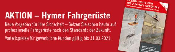 AKTION – Hymer Fahrgerüste neue Norm
