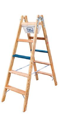 Holz-Stufenstehleitern