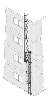 Iller-Leiter ortsfeste Leitern